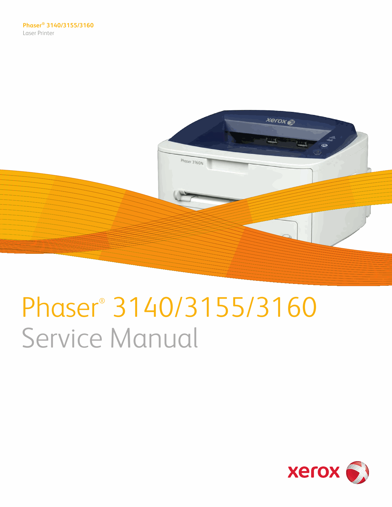 Xerox Phaser 3140 3155 3160 Parts List and Service Manual-1